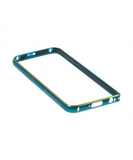 Teal and Gold Bumper Armor Defender